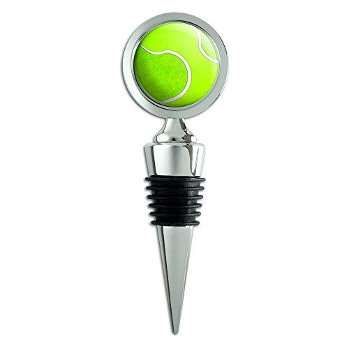 Tennis Ball Wine Bottle Stopper -