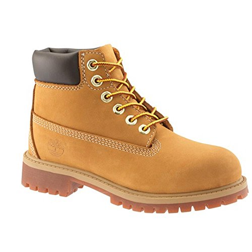 Youth Wheat Nubuck Kids Shoes (Timberland 6-Inch Premium Waterproof Boot (Toddler/Little Kid/Big Kid),Wheat Nubuck,1 M US Little Kid)