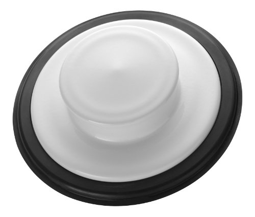 White Disposal (InSinkErator  STP-WH Sink Stopper for Garbage Disposals, White)