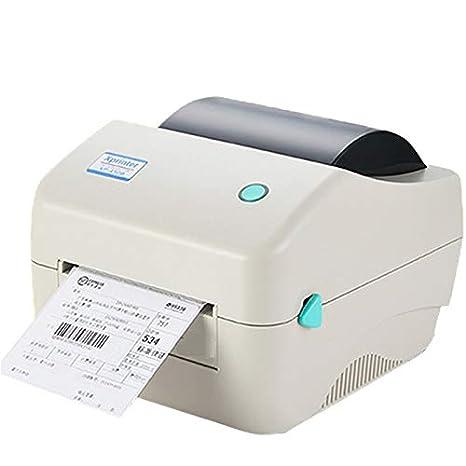 CICIN Impresora térmica de Etiquetas de código de Barras USB ...
