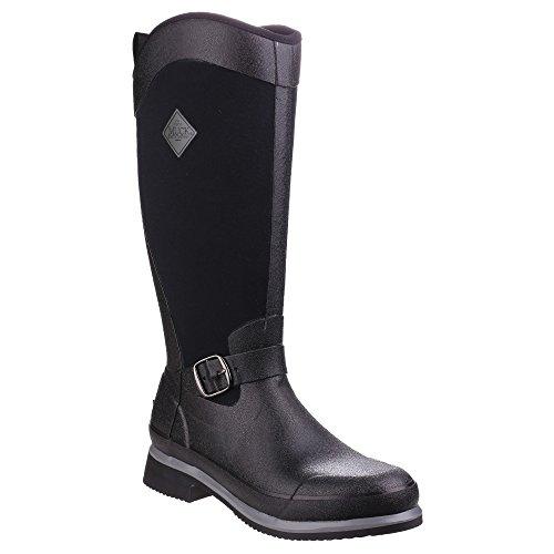 Pour Muck Femme Bronze D'quitation Tall Noires Canon Reign Bottes Boots wnTnqaZX