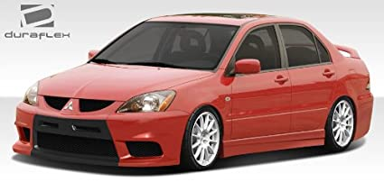 Captivating 2004 2007 Mitsubishi Lancer Duraflex Evo X Look Body Kit   4 Piece
