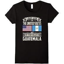 Guatemala lovers in usa shirt