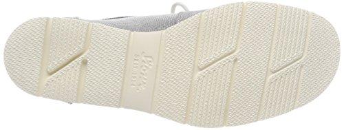 Sioux Damen Grash-d172-29 Sneaker, Grau (argento Chiaro-argento)
