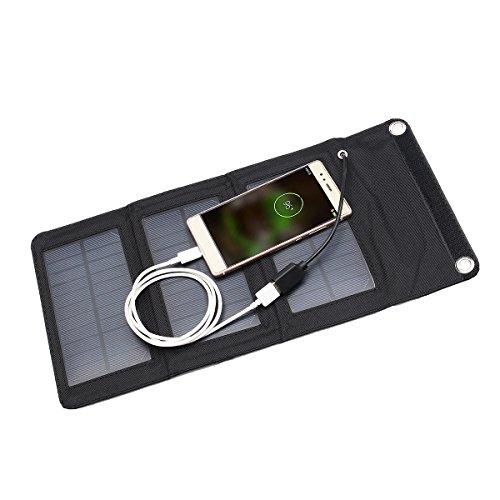 Movable Jury - 5v Portable Solar Panel Outdoor Travel Foldable Bank Usb Port - Dialog Box Instrument Takeout Impanel Take-Away Empanel Board Outboard - 1PCs ()
