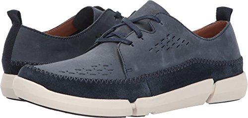 Clarks - Mens Trifri Lace Shoe Navy Nubuck 6jndrLV