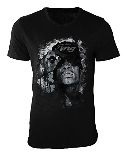 Wiz Khalifa T-Shirt stilvolles Designershirt von Paul Sinus