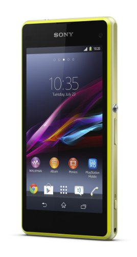 Sony Xperia Gps - Sony Xperia Z1 Compact D5503 Android Smartphone (Lime) International Version No Warranty