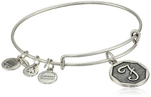 Pewter Star Charm - Alex and Ani Rafaelian Silver-Tone Initial