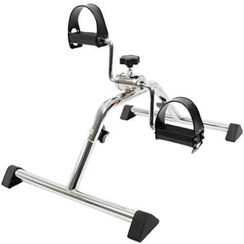 Exercise Peddler by TKWC Inc - Pedal Excerciser - Chrome