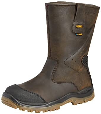 DeWalt Tungsten Men's Safety Shoes Brown 10 UK