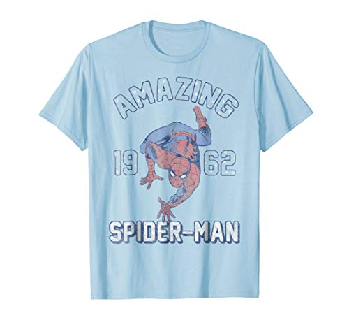 Marvel Spider-Man Amazing Stars Vintage Graphic T-Shirt ()