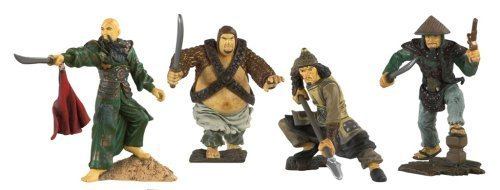 Disney Pirates of the Caribbean At Worlds End Zizzle PVC Figure Set Empress [Sao Feng, Huang & 2 Pirates] by Zizzle (Zizzle Pirate)