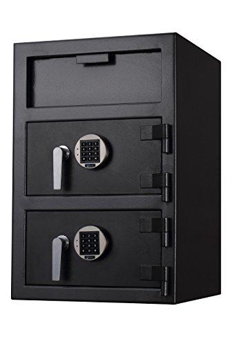 FDD-3020 Protex Dual Compartment Drop Safe/Front (Dual Compartment Drop Safe)