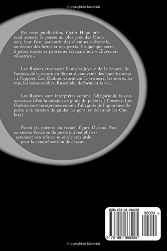 Les Rayons Et Les Ombres Amazones Victor Hugo Libros En