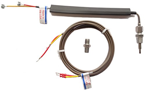 TruckMeter 015TM5003 - Type K Universal Thermocouple Pyrometer Probe with Leadwire