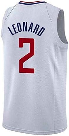 Alero de Baloncesto Jersey, Los Angeles Clippers, 2 Kawhi Leonard ...