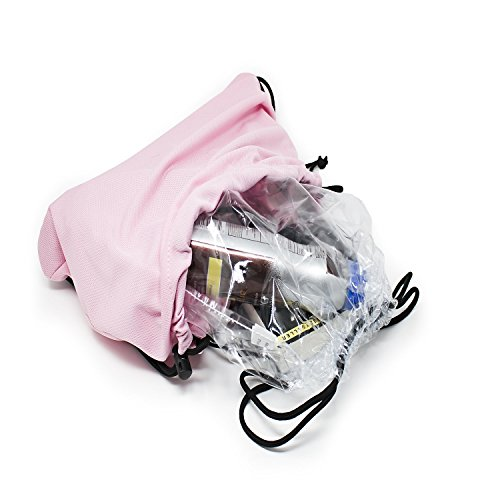 Drawstring backpack clear stadium bags | Transparent stadium approved backpacks for adults, men, woman, and kids | See through cinch sack for travel or football, baseball, soccer games, or concerts