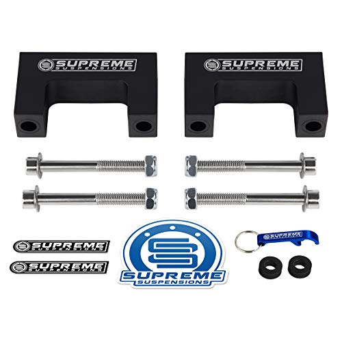 - Supreme Suspensions - Rear Shock Lift Extenders for 1988-1999 Chevy C1500 C2500 C3500 2WD | for 2
