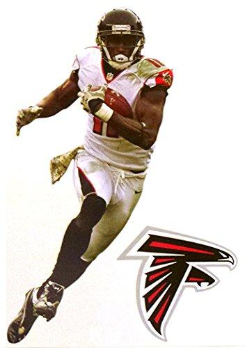 FATHEAD Julio Jones Mini Atlanta Falcons Official NFL Vinyl Wall Graphic 7