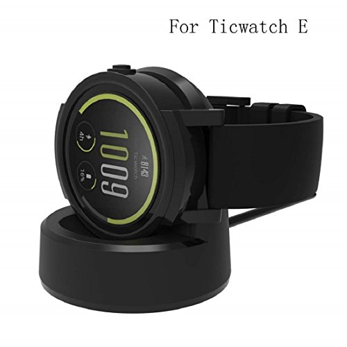 Ticwatch E S Charger,Ticwatch E Charging Dock Cradle SYNC Data with Computer Host_Itian