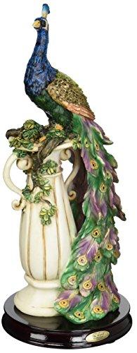Design Toscano The Peacock's Sanctuary Sculpture