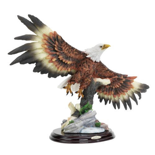 Brass Eagle Bookends - 8