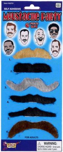 Forum Novelties Moustache Party Set (6-Piece) ()