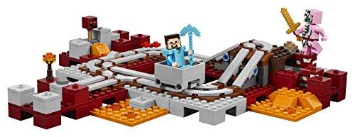 41yk0a9xqFL - LEGO Minecraft The Nether Railway 21130