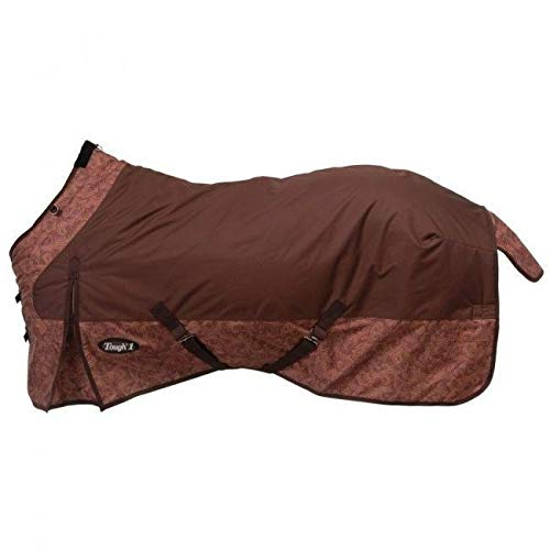 - Tough-1 600D Ripstop Poly Waterproof Horse Sheet in Tooled Leather