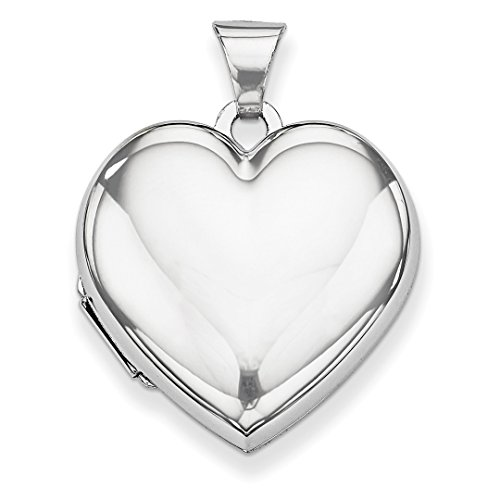 ICE CARATS 14kt White Gold Heart Shaped Domed Photo Pendant Charm Locket Chain Necklace That Holds Pictures Fine Jewelry Ideal Gifts For Women Gift Set From Heart 14kt Gold Domed Heart Locket