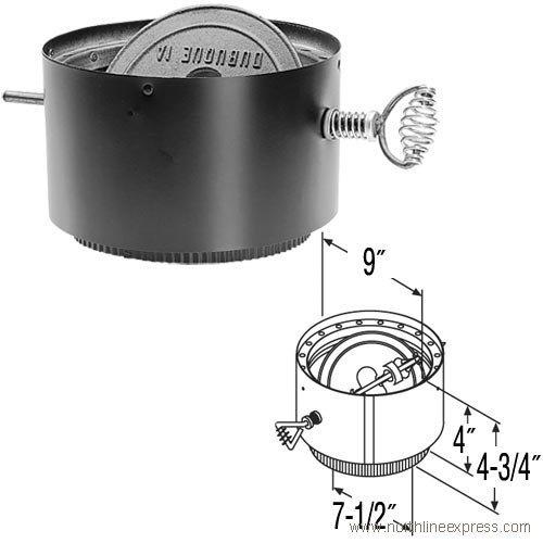 8 inch stove pipe damper - 6