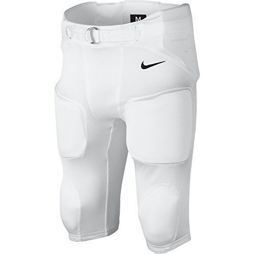 Nike Youth Football Pants (Boy's Nike Recruit 2.0 Football Pant White/Black Size Large)