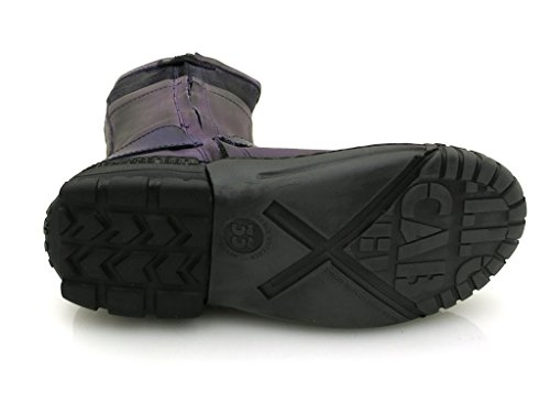 Violet y39009 Jaune Violet bottes cab qtwOw0