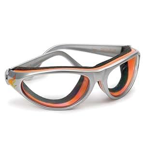 RSVP Gray and Orange Barbecue Grillin' Goggles
