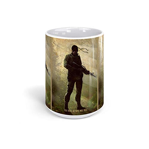 Ceramic Coffee Mug Gamer Video Game Cup Veteran Gaming Computer Drinkware Super White Mugs Family Gift Cups 15oz 443ml