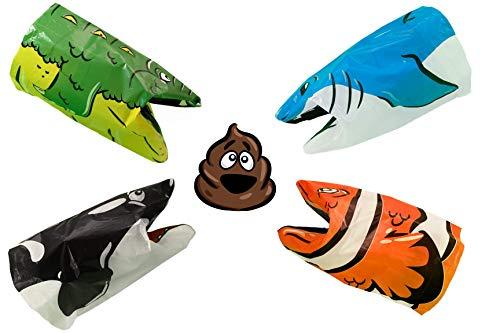 - Pick Up Pals Puppets Dog Poop Bag - Biodegradable Waste Pet Bags - Lavender Scented - 100 Units