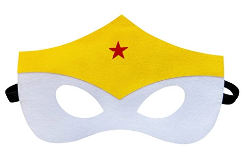 So Sydney Superhero Adult Teen Kid MASK Halloween Costume or Party Favors (Wonder Woman) - Wonder Woman Mask
