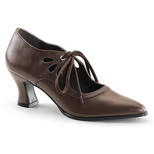 Funtasma VICTORIAN-03 womens Brown Polyurethane Pumps Shoes Size - 12