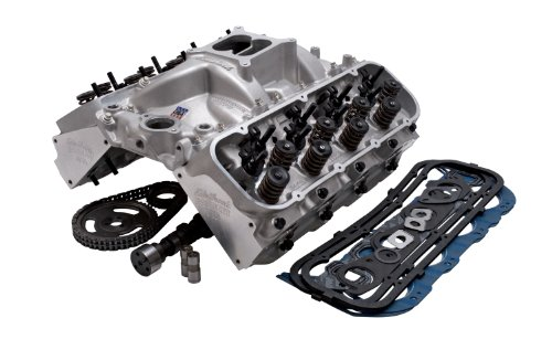 Edelbrock 2024 Power Package Top End Kit 354 HP Incl. Performer RPM Intake/E-Street Heads/Performer Camshaft And Lifters/Timing Chain/Gasket Set/Bolt Kits Chevy Big Block Power Package Top End Kit (Performer Cam Kit Street)