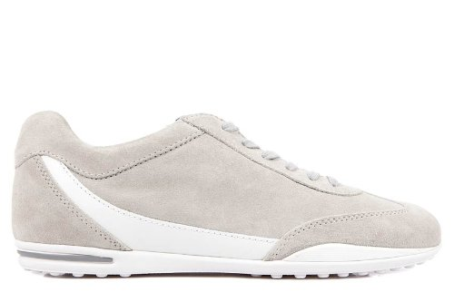 Tod's men's shoes suede trainers sneakers grey US size 10.5 XSM0NT0C171JO7800B