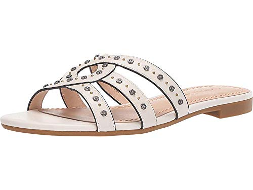 Used, Coach Women's Kennedy Flat Slide with Tea Rose Studs for sale  Delivered anywhere in USA