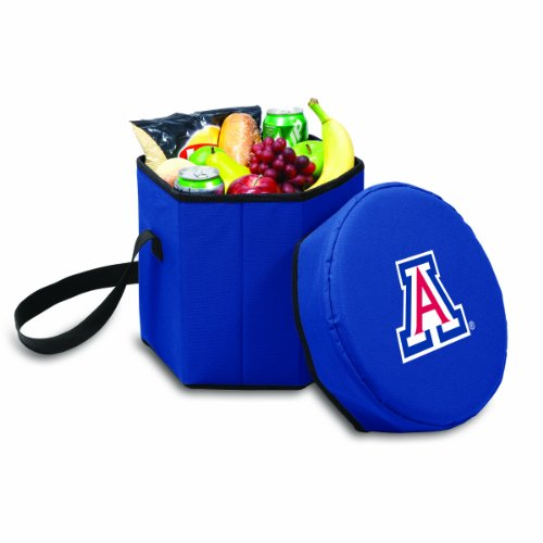 NCAA Arizona Wildcats Bongo Insulated Collapsible Cooler, Navy
