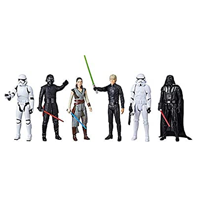 """DisneyHasbro Star Wars 12"""" Epic Rivals Action Figures- 6 Pack"""