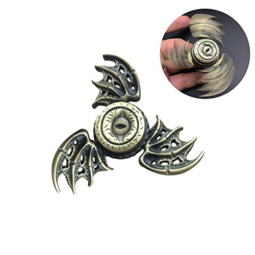 Mother's Day Gifts 2017 New Arrival-Fidget Spinner/Hand Spinners Toy, Novelty Fidget Toys for ADHD, ADD, Anxiety, Focus, Deep Thought, Finger Gyro for Adults and Kids Father's Day Gifts (Bat (Adult Bat Wings)