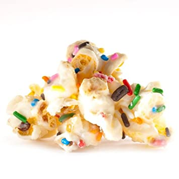 Amazon Birthday Cake Popcorn
