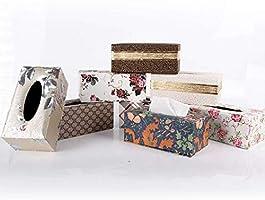 Depory 1pc Caja de Pañuelos Caja de Cuero para Toallas de Papel ...
