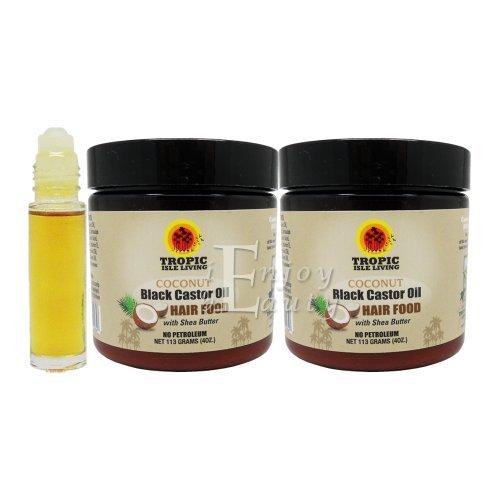 amaican COCONUT Black Castor Oil Hair Food 4oz