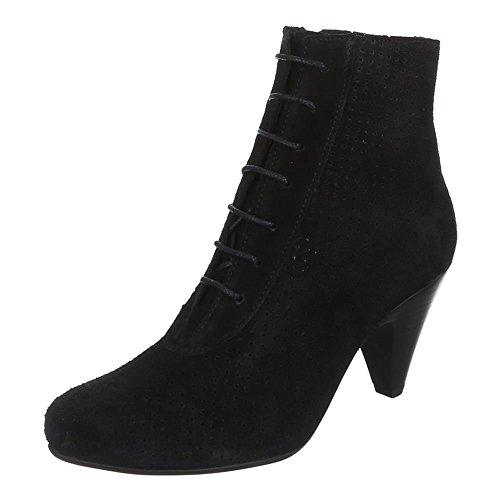 Ital-Design - botas Mujer Negro - negro