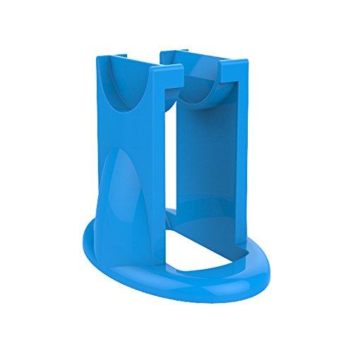 Price comparison product image Fidget Spinner Holder New Design For Hand Spinner Fidget Antistress Focus Toy Holder EDC Finger Spiner Gyro Mount 5 Colors (blue)